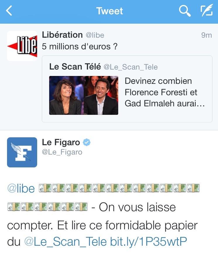 Tweet libération figaro 1